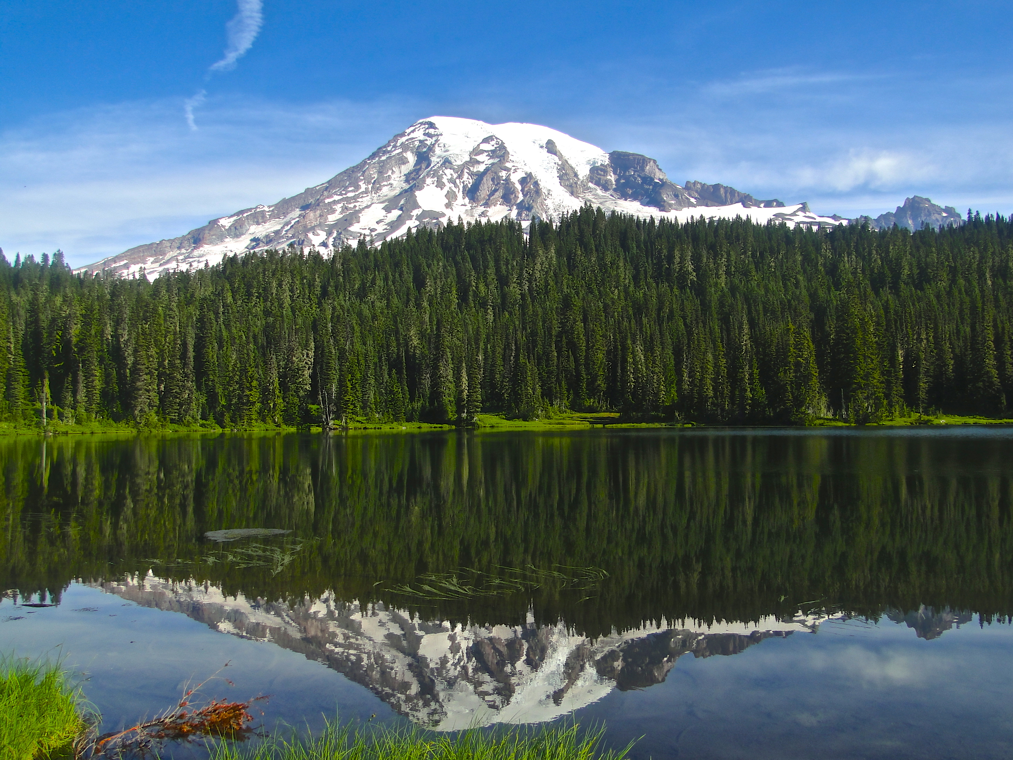 Reflection Lakes Mt Rainier Visitor Association