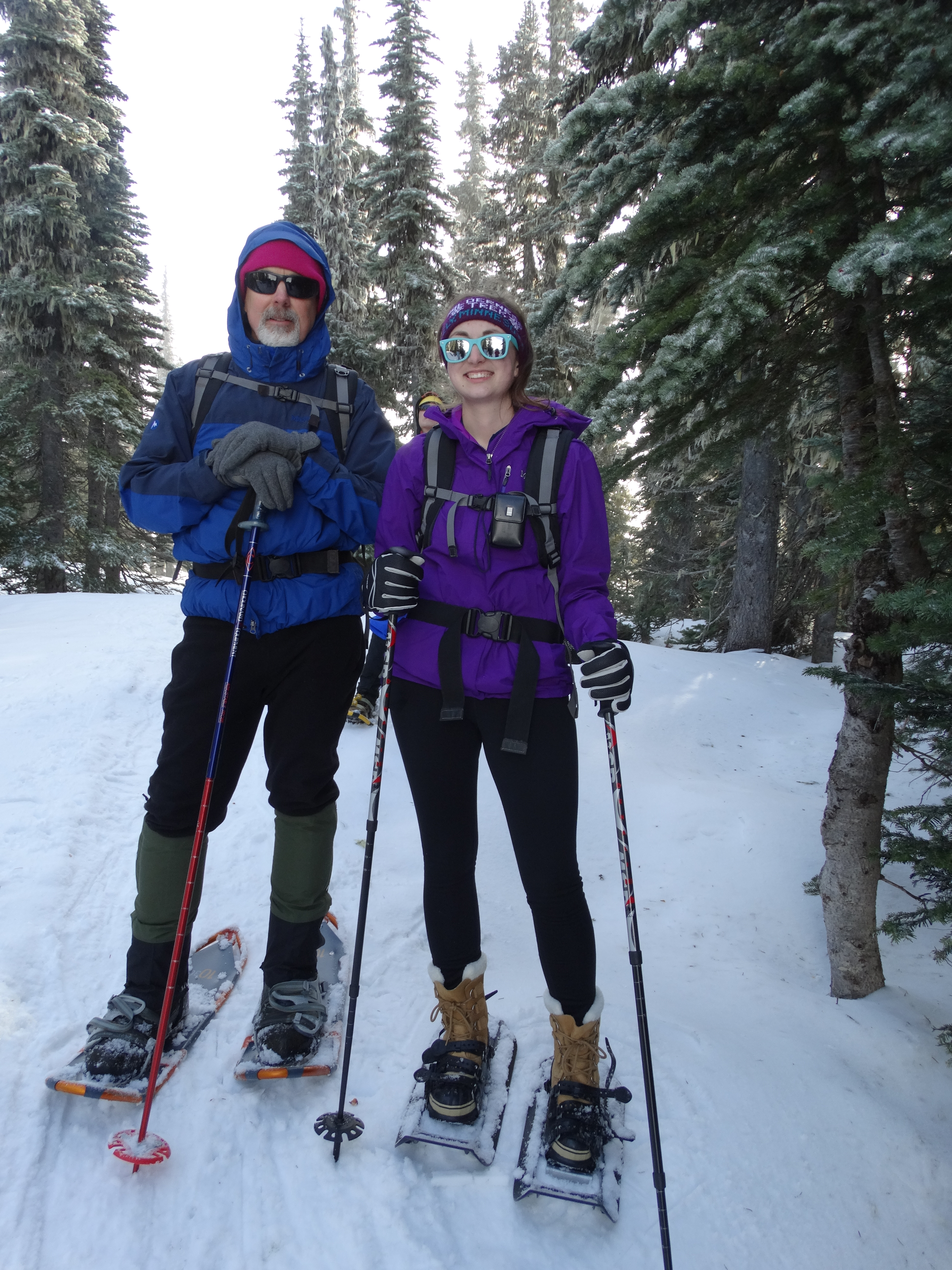 2019 year for girls- Wear to what snowshoeing grouse